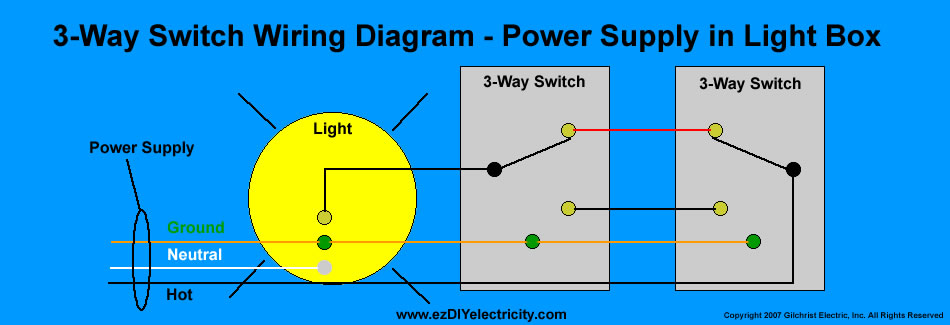Three Way Wiring Diagram
