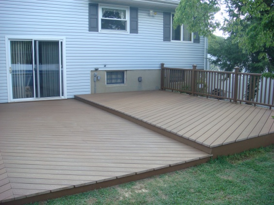 Ideas For Deck Over Concrete Patio And Beyond Pics  302 ...