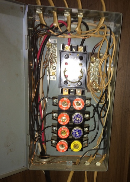 please detail what's wrong with this fuse box homeowner wants new 1995 pathfinder fuse box please detail what's wrong with this fuse box homeowner wants new breaker panel
