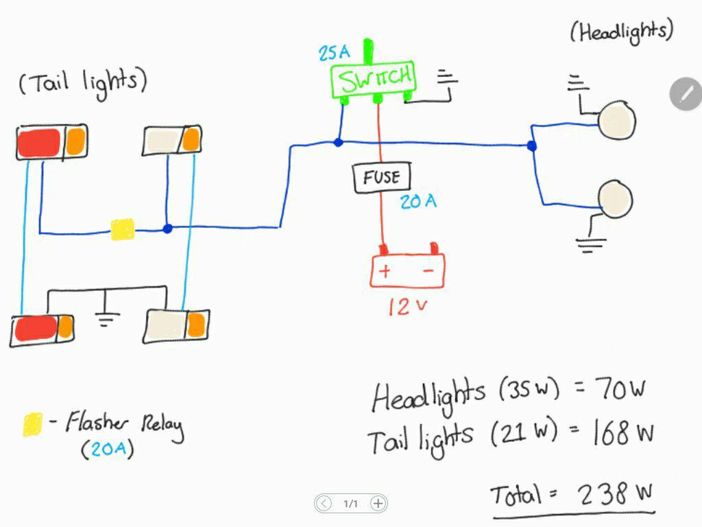 Simple Wiring Diagram Help - Electrical