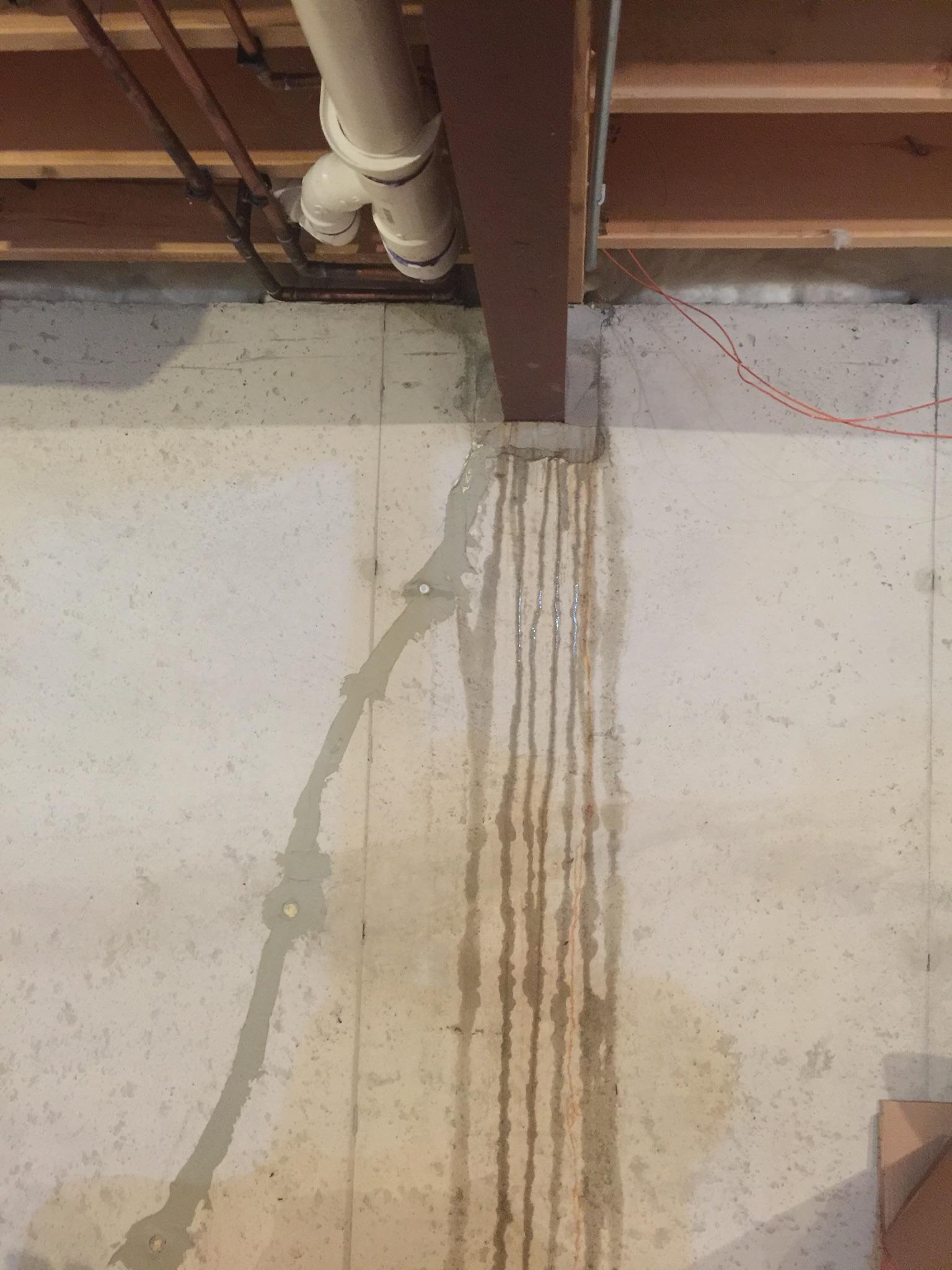 Basement water leakage from I beam-31ce2bf1-8469-4a04-b8f8-4b177ba683f2_1569961416118.jpeg