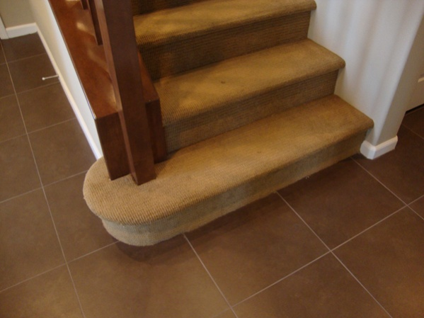 Wood Stairs Without A Skirt Thoughts Flooring Diy