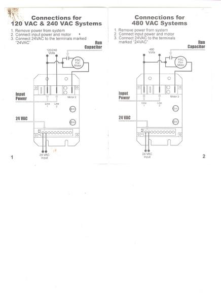 Wiring In Head Pressure Fan Control  - Hvac