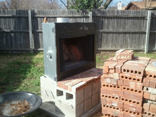 How To Build An Outdoor Fireplace Diy, Building A Outdoor Fireplace