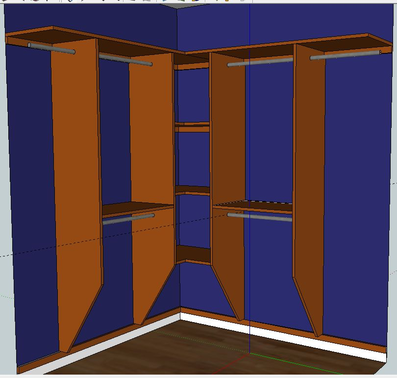 How To Build A Closet Organizer Plans