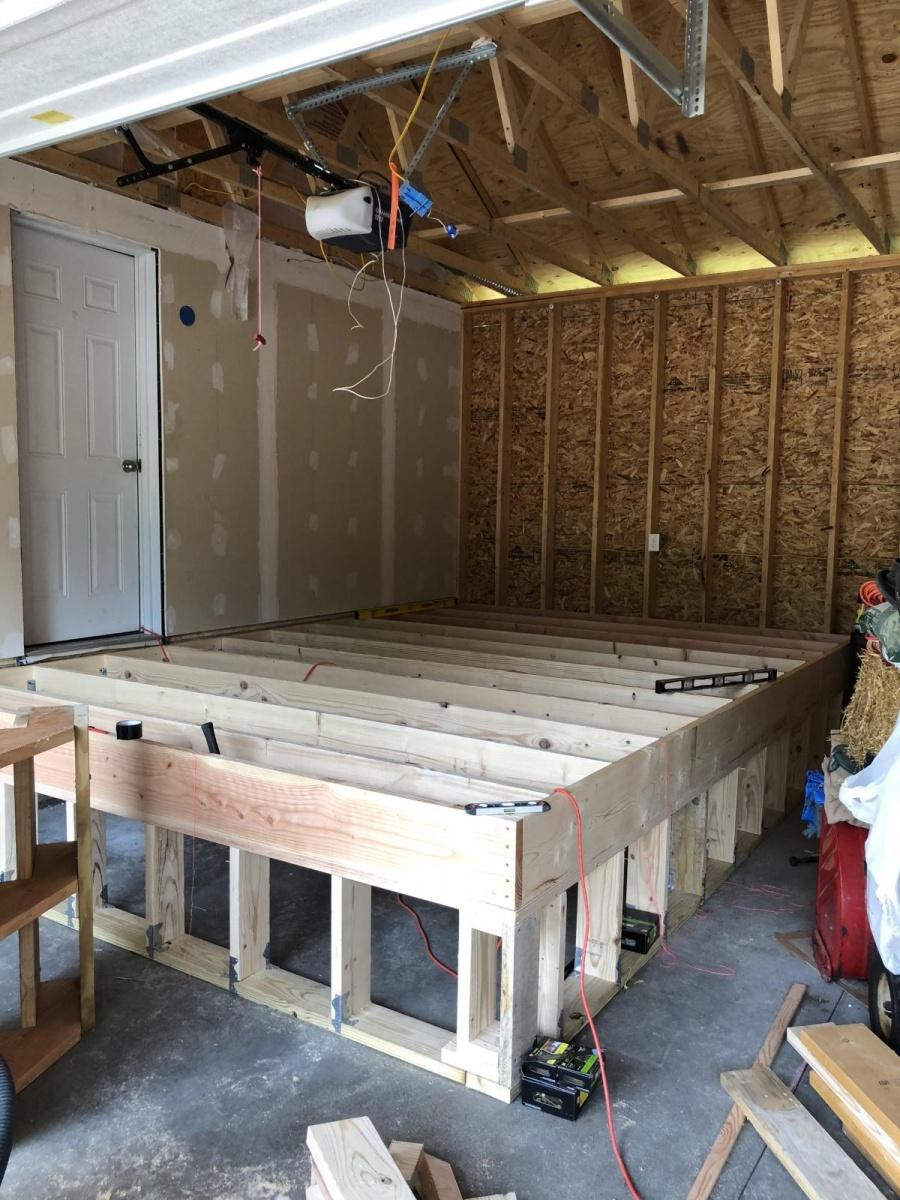 Mudroom In Garage Insulation Heat General Diy Discussions