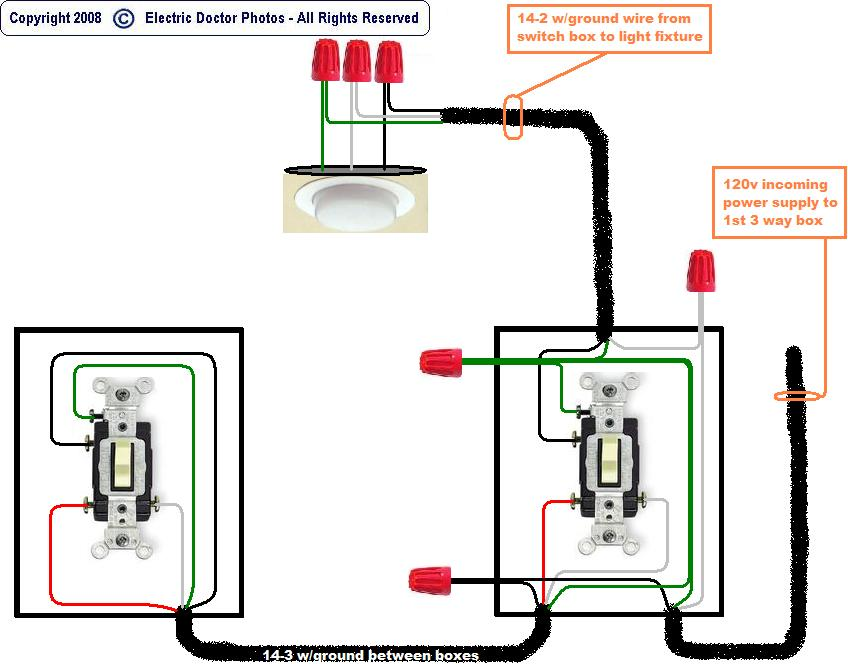 Way Switches Wiring Diagrams Double Light Switch Wiring Wiring