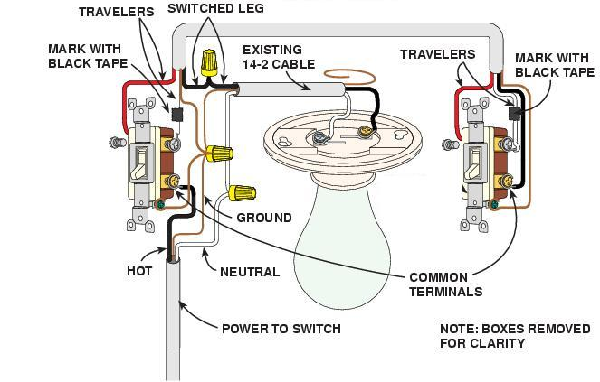 3 Way Wiring - Electrical