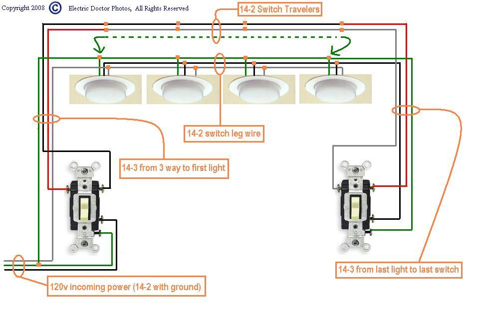 Wiring 3 Way Switches 2 Lights - Today Diagram Database on