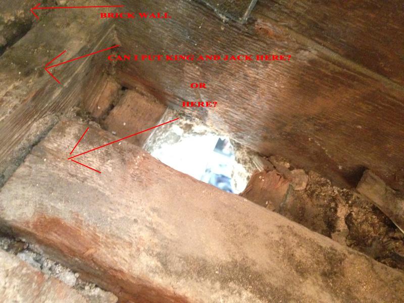 Load bearing joining at brick wall.  Studs where?-4.jpg