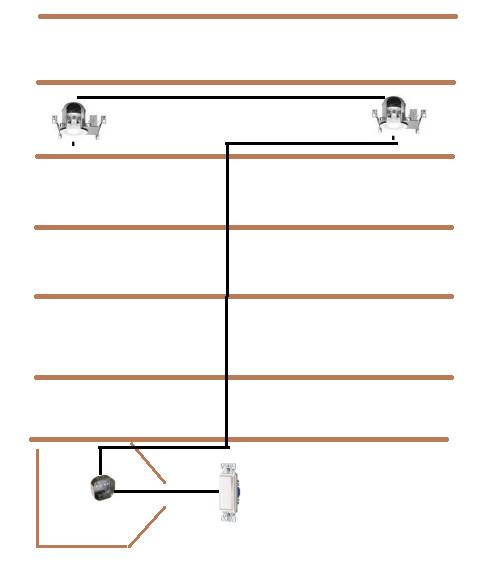 basement recessed lights junction box question