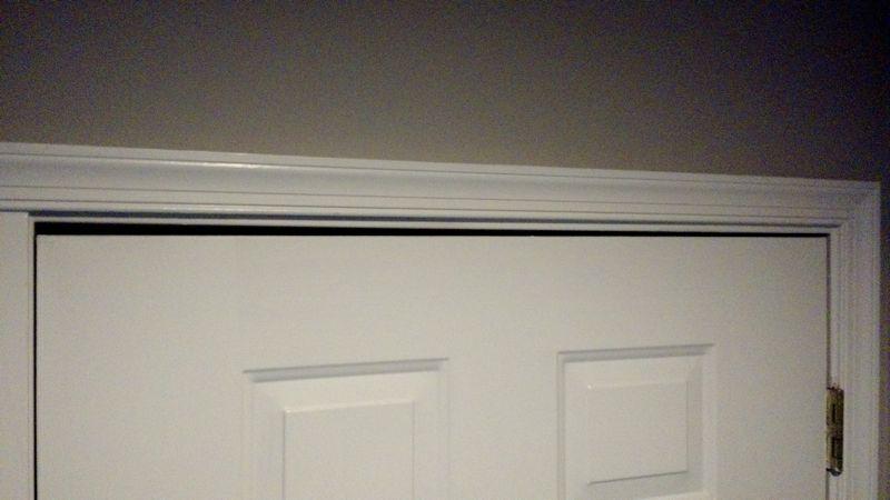 Exterior Door Jamb Finger Joint Separating Windows And