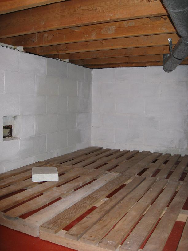 Awesome ... Insulating Floor Joists 4 Under Rear End Entrance ...
