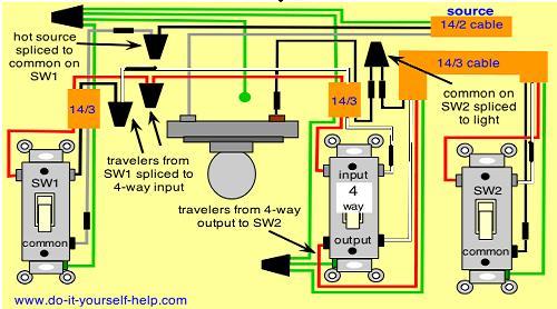 Diagram 4 Way Confusion Electrical