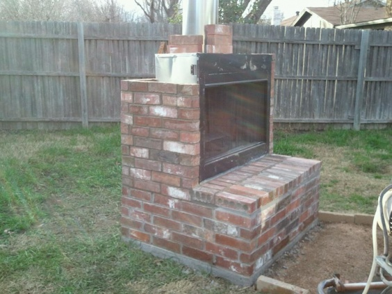I stumbled upon this how-to-video and thought I might share. Has anyone tried and successfully installed a diy outdoor fireplace? Or do you think that it
