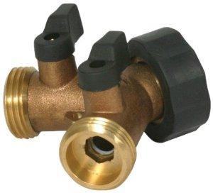 Install Garden Hose Valve Atop Hot Water Heater Plumbing DIY