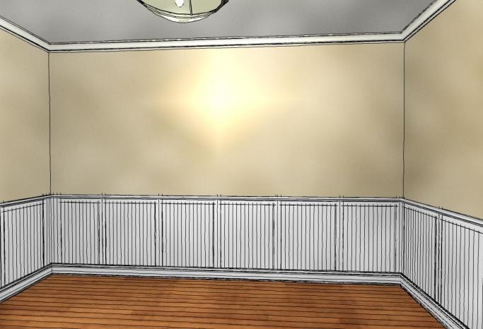... Dining Room Box Panels 42 Wc ...