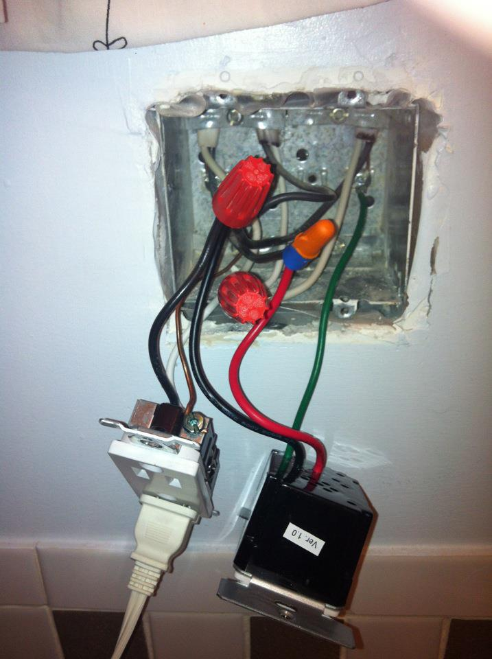 Wiring Help For A Timer Switch (for Bathroom Exhaust Fan ...