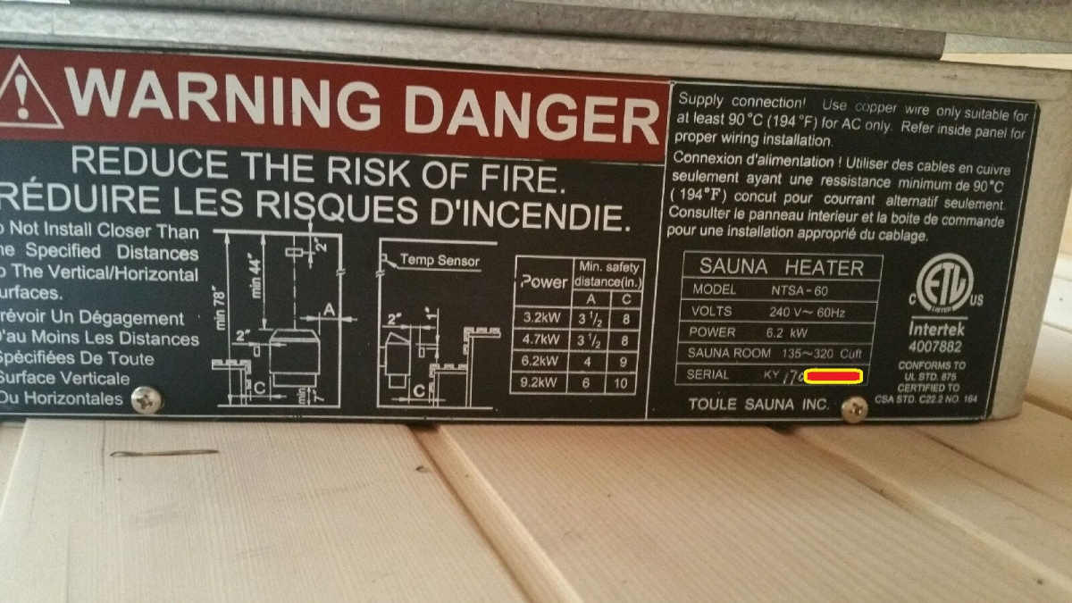 Wiring A 220v Sauna Heater Electrical Work Diagram Help Wire On Stove Outlet Diy Chatroom Home Improvement Forum Finnleo Manual