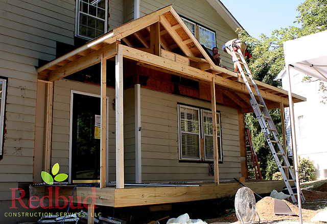 Building A Roof Over Deck Building Amp Construction Diy