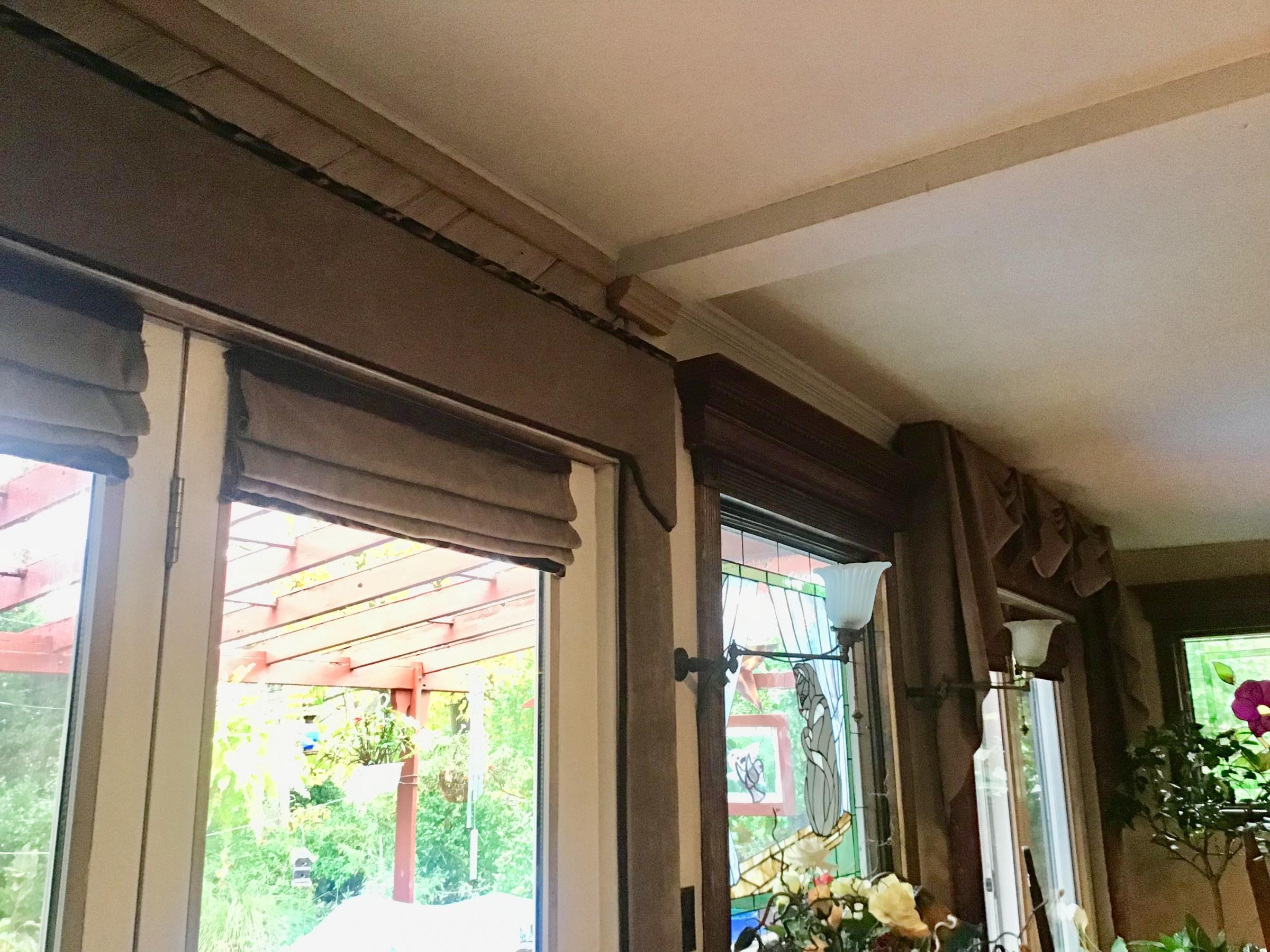 Curtain ideas for these old wood headers ?-4c5842e6-9e55-4ec4-928c-23a459fe2e62.jpg