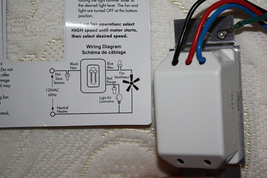 Diagram How To Install Ceiling Fan And Light Fan Control Switch On
