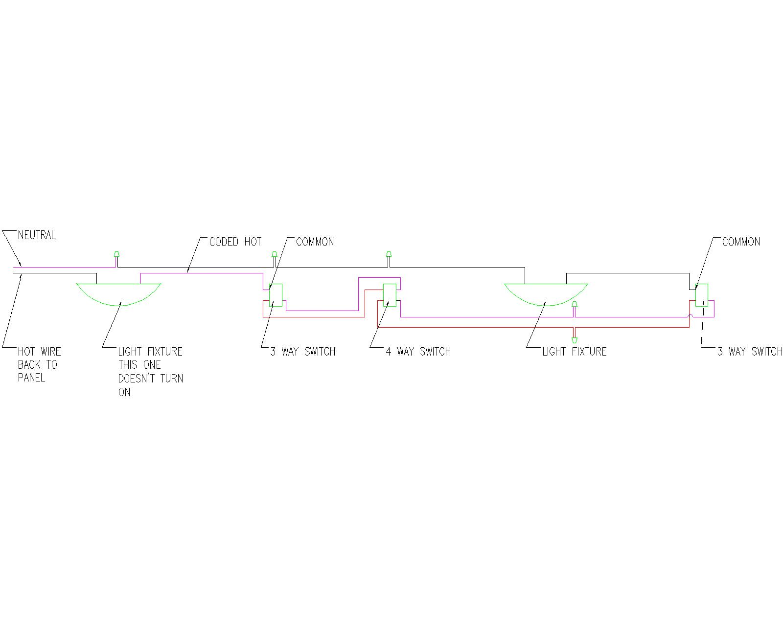 Together With 4 Way Light Switch Wiring Diagram Together With 4 Way