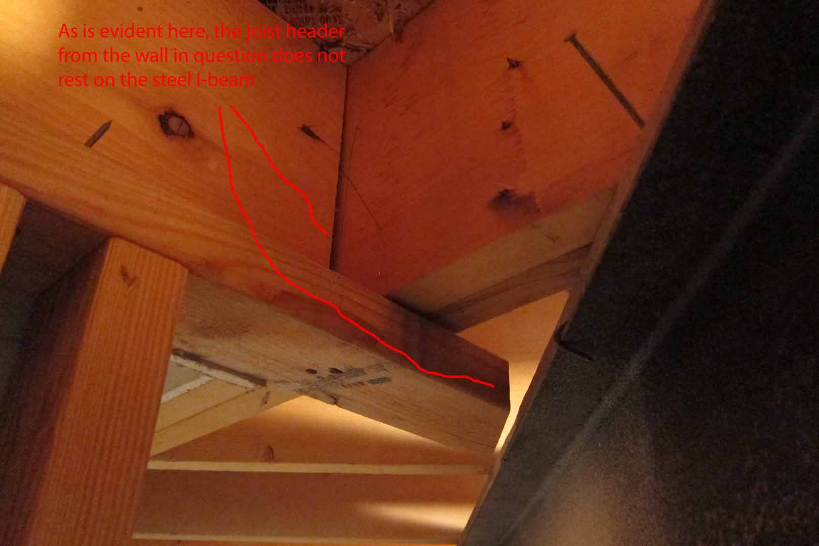 Load bearing wall or not?-5.-joist-header-does-not-rest-i-beam.jpg