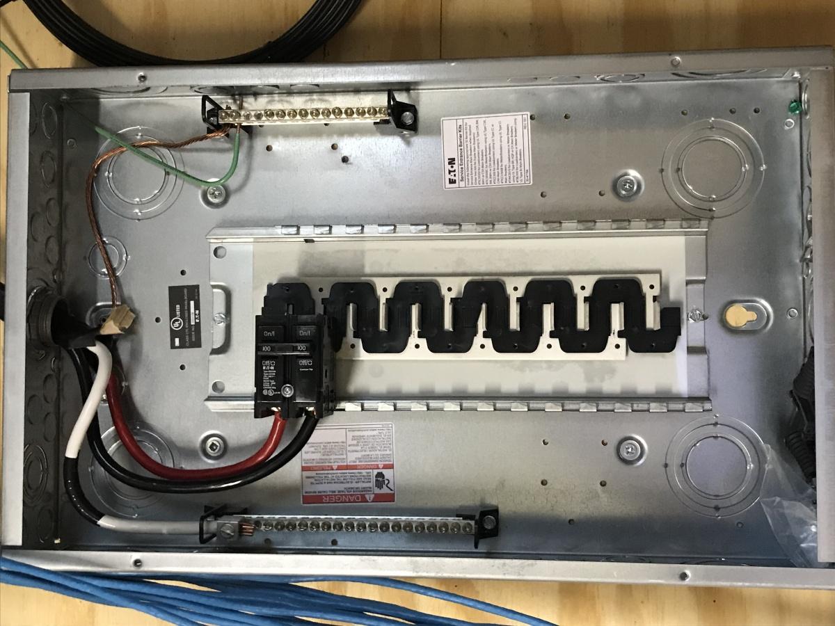 Sub Breaker Box Wiring Help - Electrical