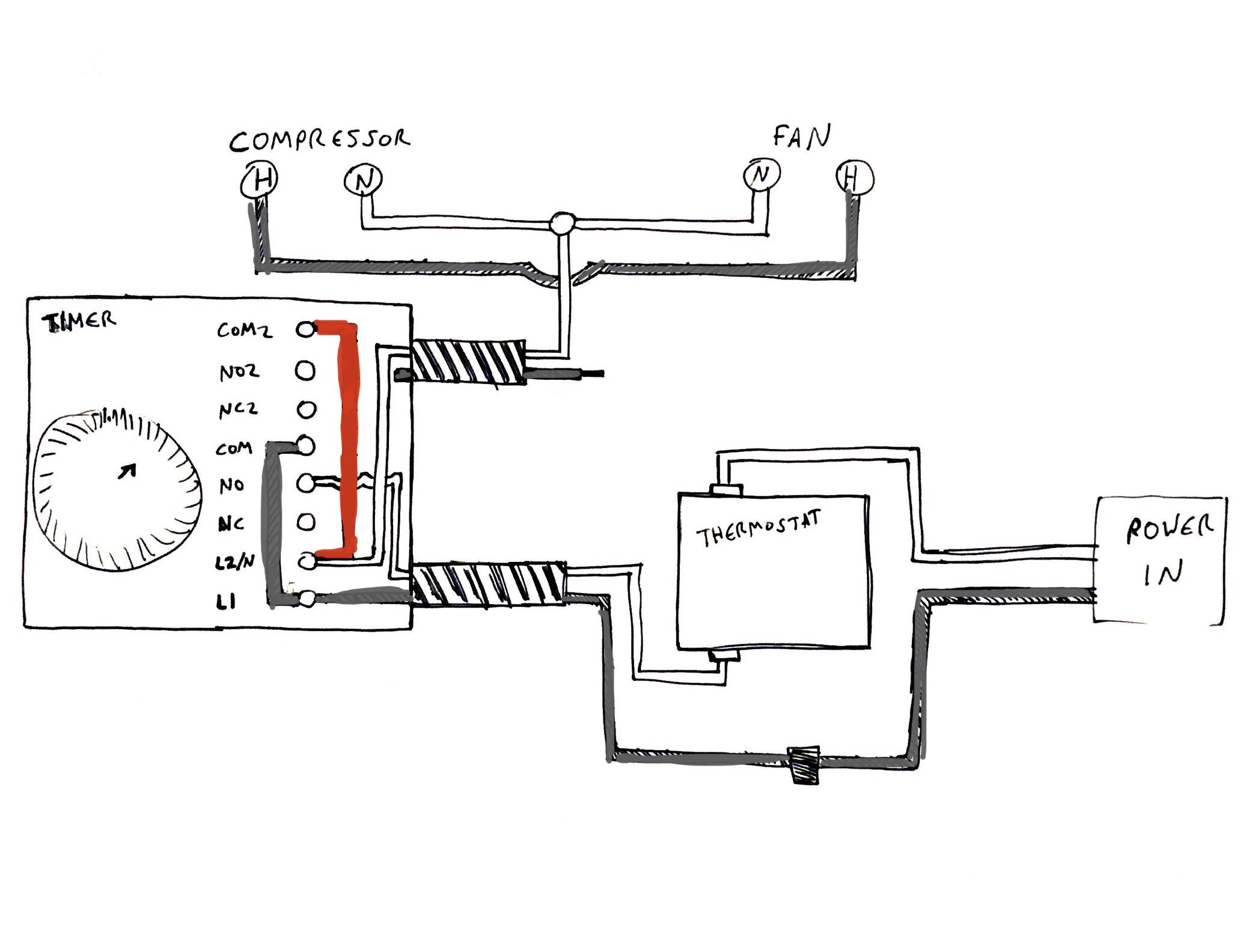refrigerator wiring diagram compressor wiring for refrigerator thermostat and compressor electrical refrigerator compressor starter wiring diagram wiring for refrigerator thermostat and