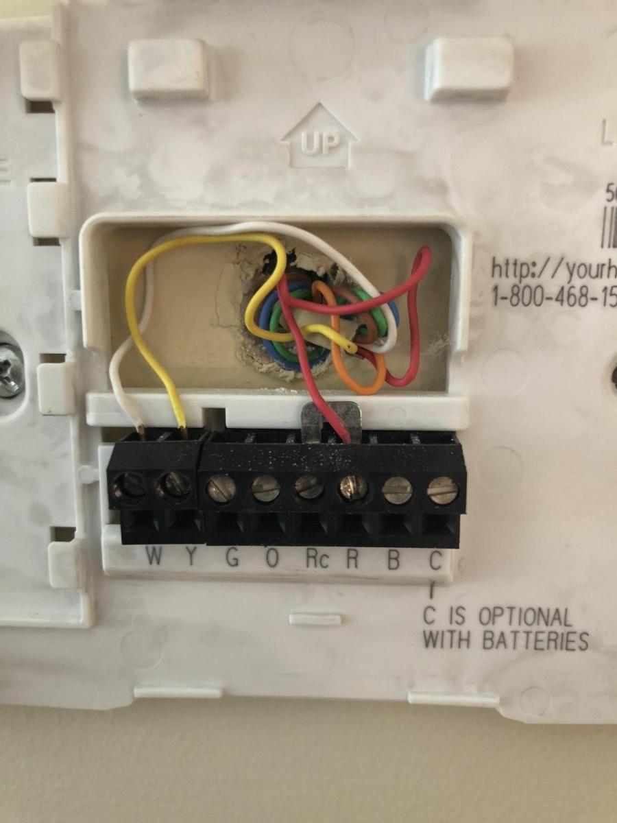 Nest Thermostat Install - Hvac