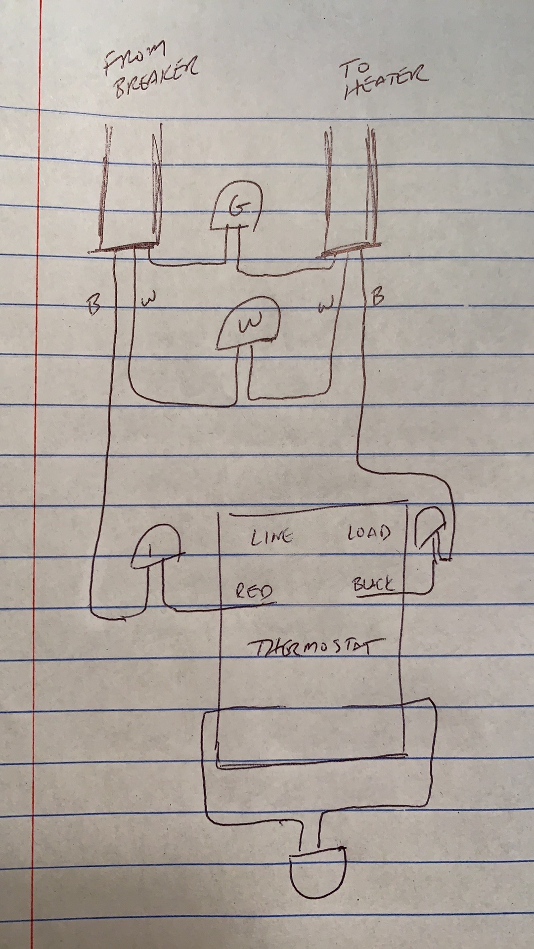 Wiring A Double Pole Thermostat For Electric Baseboard ...