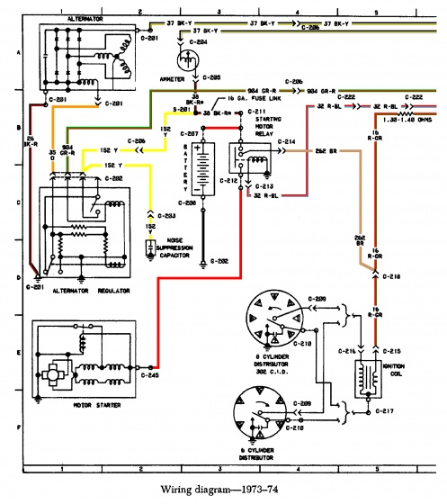zero center ammeter wiring 73 74 01 05 color jpg