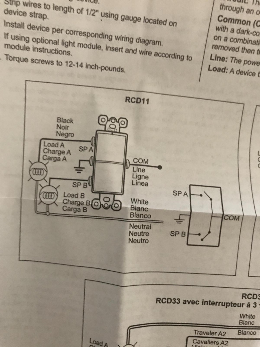 Remove Dimmer Light Switch Ceiling Fan General Diy Discussions Wiring Diagram Power Into Single 7657fbc2 B6a6 4c4e Afa4