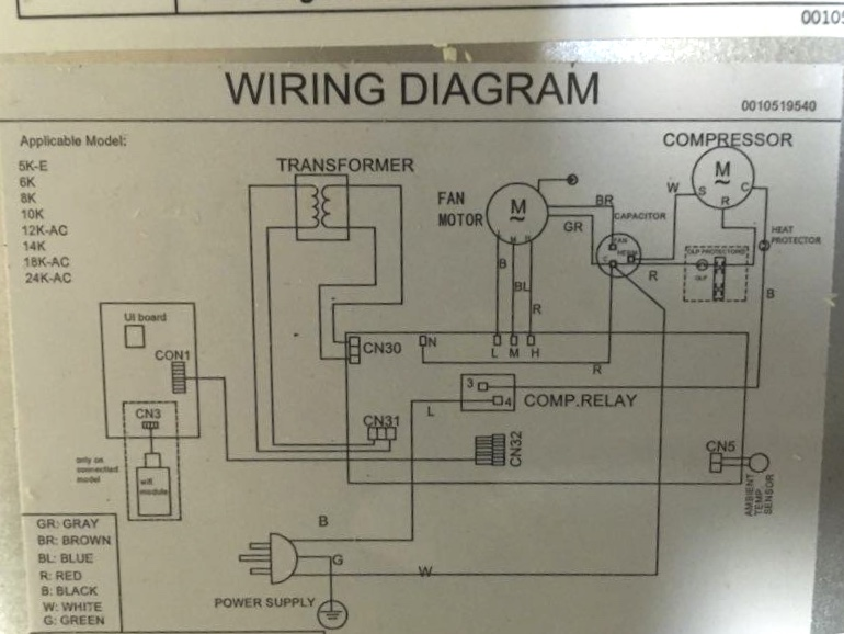 Wiring For Cold Room - Hvac