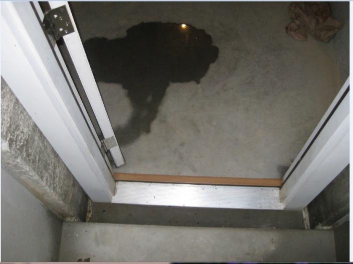 Water Entering Basement From Under Bulkhead Door-8-7-11-2.jpg