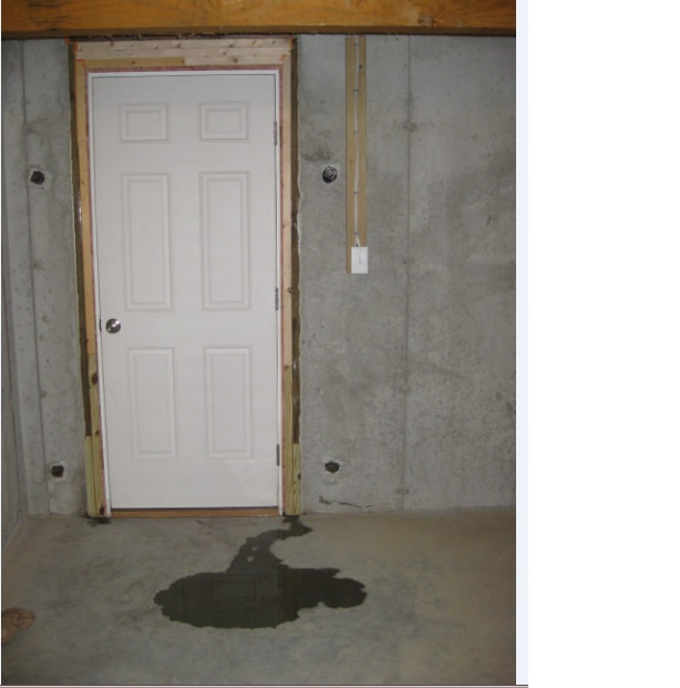 Water Entering Basement From Under Bulkhead Door