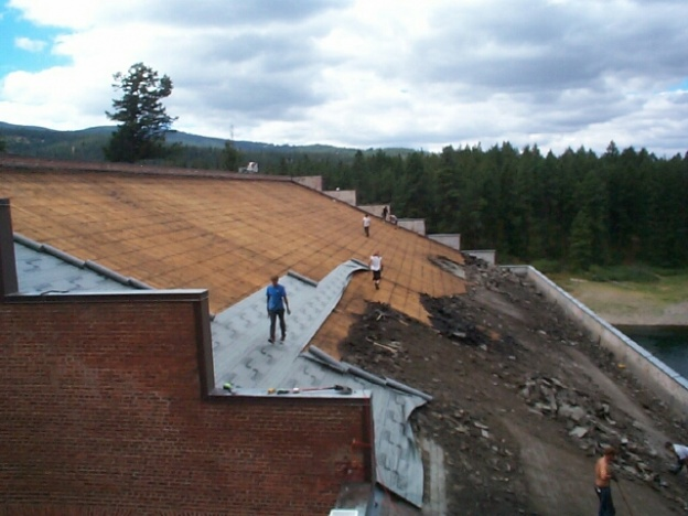 Stripping A Roof With Skip Sheeting Roofing Siding Diy