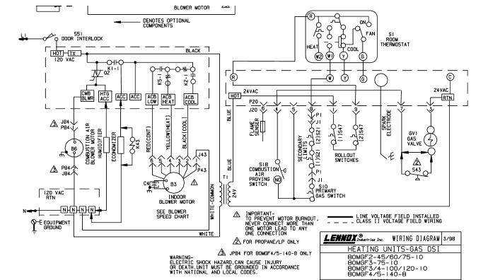 Lennox Ecg 2 With New Blower Motor Wiring Changes Diy Home Improvement Forum