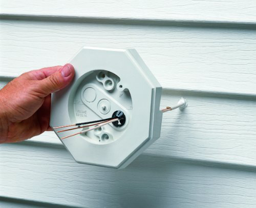 Outdoor Light On Siding Electrical Diy Chatroom Home