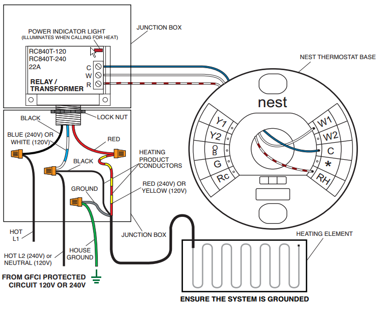 Wiring Low Voltage Thermostat On Profusion Electric Heater