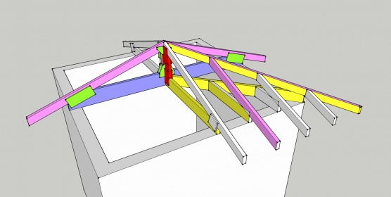 How To Build A 4-hip Roof? - Building & Construction - DIY Chatroom ...