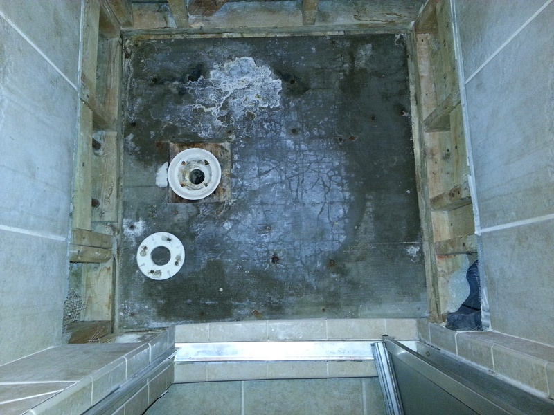 How to repair tiled shower drain leak-9.jpg