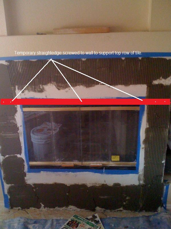 Removed Tile Around Fireplace, Drywall Underneath?! - Building ...