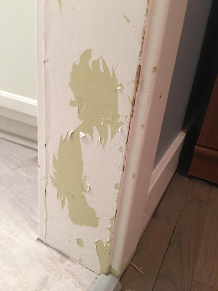 Help Peeling Latex Over Oil Based Paint With Lead Painting Diy Chatroom Home Improvement Forum