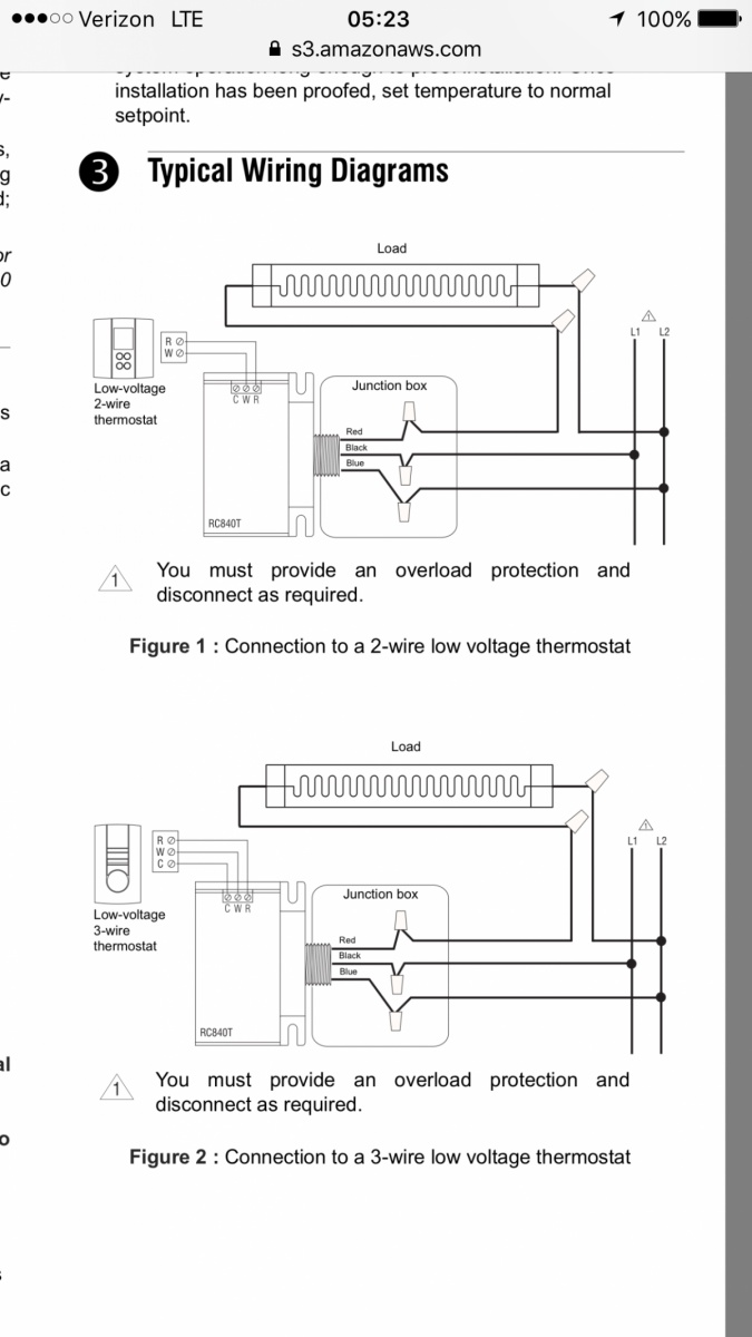 2wire 3 Way Switch Wiring Data Schema Set Light Wire Schematic 2 Baseboard Heaters To 1 Thermostat Diagram Variations