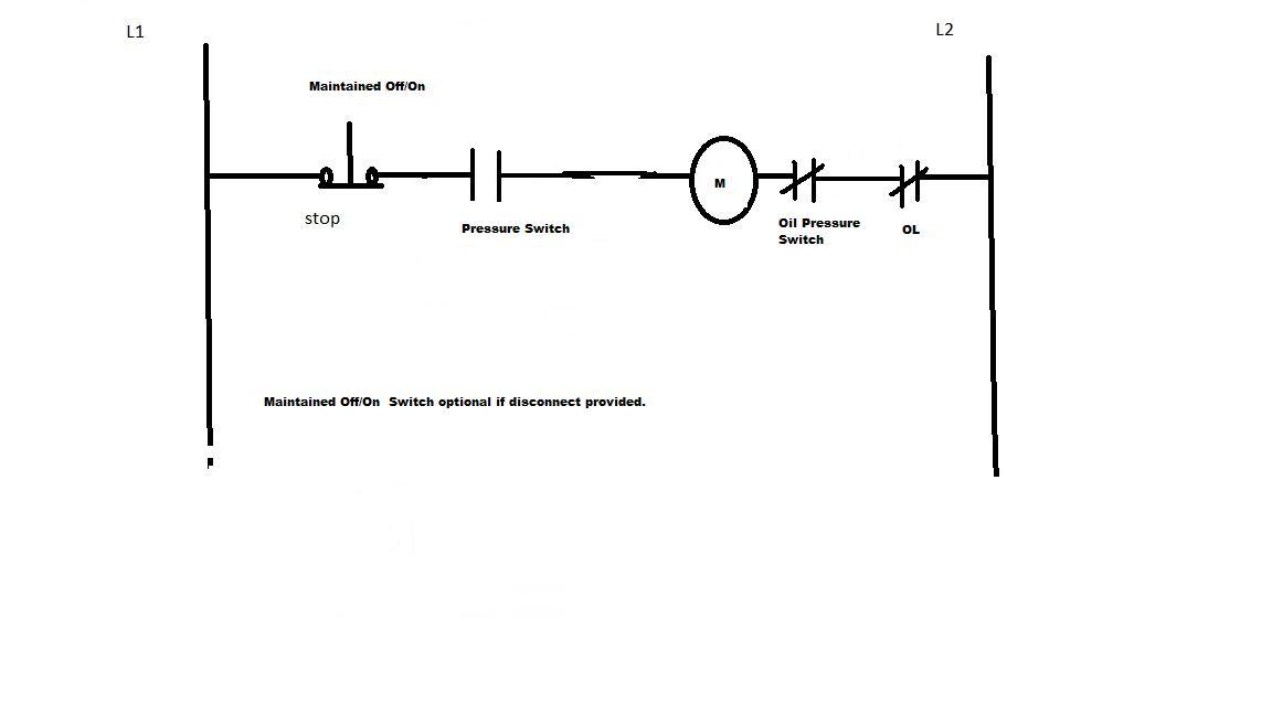 air compressor motor wiring compressor pro air compressor wiring mag and pressure switch to motor