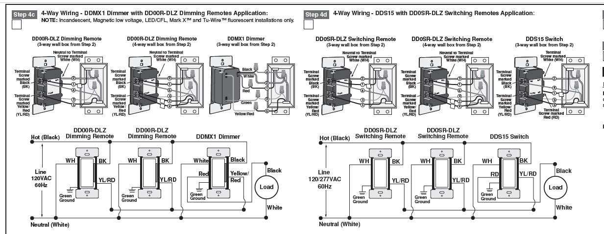 4 Way Wiring - Electrical