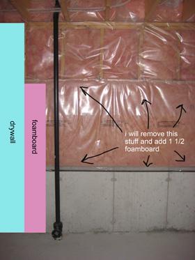 Insulating Basement Half Walls My Plan Insulation Diy