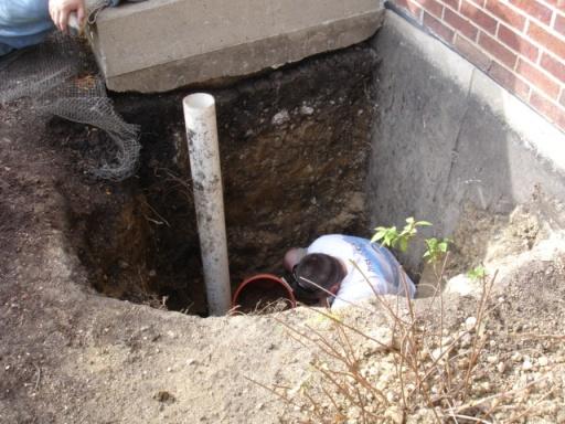 Sewer gas smell in basement from sump pump-aa-hole-almost-finished.jpg